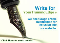Write for: Your Training Edge